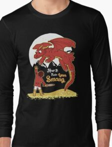 How to Train your Smaug Long Sleeve T-Shirt