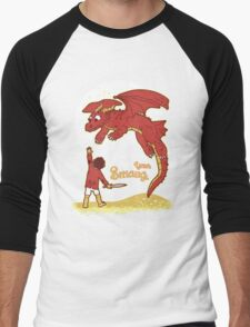 How to Train your Smaug Men's Baseball ¾ T-Shirt