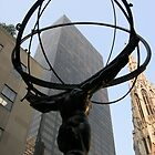 Atlas Statue, Manhattan by Leonard Owen