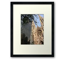 St. Patrick's Cathedral, New York Framed Print
