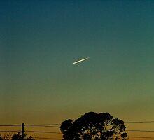 Shooting Star? Rocket Ship? by Ferguson