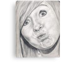 Kiss?? Canvas Print