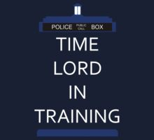 Time Lord In Training by TesniJade