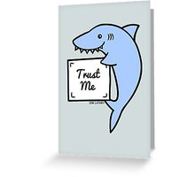 Smiling Shark  Greeting Card