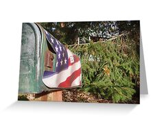 Patriotic Greeting Card