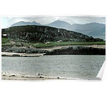 Little Loch Broom (with seagull) Poster