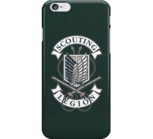 Scouting Legion iPhone Case/Skin