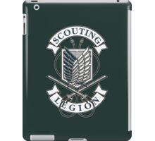 Scouting Legion iPad Case/Skin