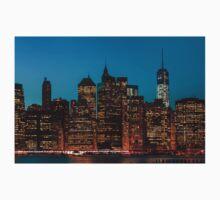 Manhattan at night One Piece - Short Sleeve