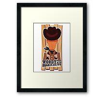 Woody the Kid 2.0 Framed Print