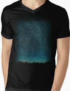 There IS somebody out there! Mens V-Neck T-Shirt