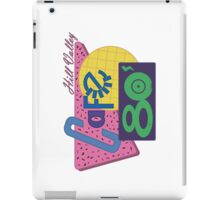 Cafe 80´s IPad iPad Case/Skin