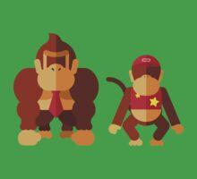 Cool monkeys One Piece - Short Sleeve