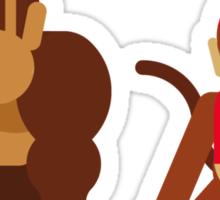 Cool monkeys Sticker