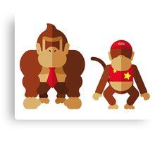 Cool monkeys Canvas Print