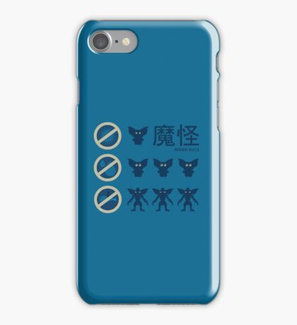 Gizmo Rules IPhone iPhone Case/Skin