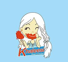 Khaleesi Heart Cream IPhone! by loku