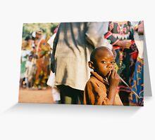 Mambo Bafut, annual dance  Greeting Card