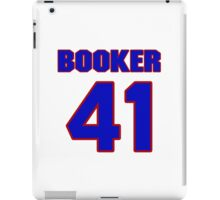 Basketball player Butch Booker jersey 41 iPad Case/Skin