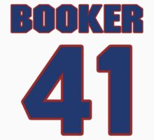 Basketball player Butch Booker jersey 41 by imsport