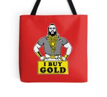 I Buy Gold Tote Bag