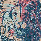 Lion beige by weirdbird