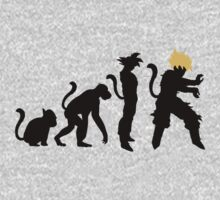 From Monkey to Super Saiyan by PlanetEarth