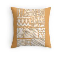 Patterns in paper 1 Throw Pillow