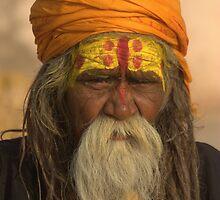 Wiseman of Varanasi by dipperdoo