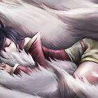 League of Legends - Ahri sleeping by ghoststorm