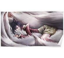 League of Legends - Ahri sleeping Poster