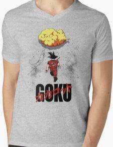 Gokira Mens V-Neck T-Shirt
