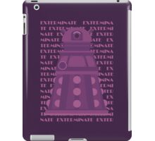 Exterminate Purple iPad Case/Skin