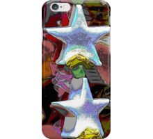 Christmas decorative star iPhone Case/Skin