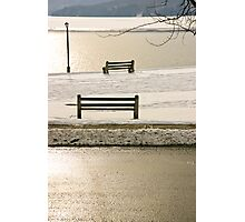 Bench Photographic Print