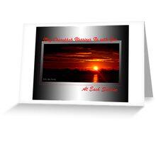 Sunrise Chanukkah Blessings (holiday card) Greeting Card