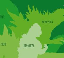 Monster Evolution Green Sticker