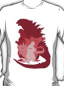 Monster Evolution Red T-Shirt