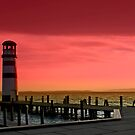 Enjoying the sunset by Kurt  Tutschek