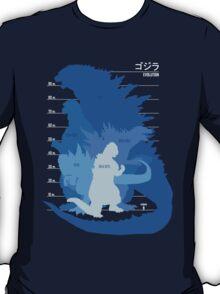 Monster Evolution Blue T-Shirt