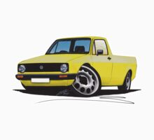 VW Caddy Yellow by Richard Yeomans