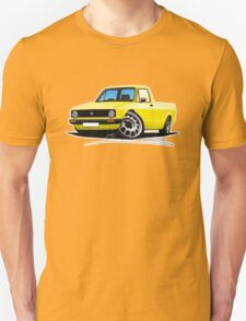 VW Caddy Yellow T-Shirt