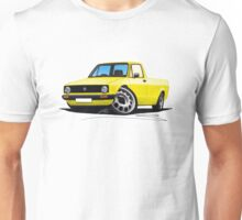 VW Caddy Yellow Unisex T-Shirt