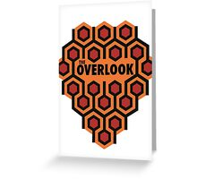 The Shining Overlook Hotel Greeting Card