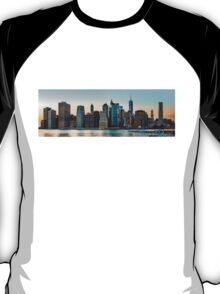 New York City skyline panorama T-Shirt