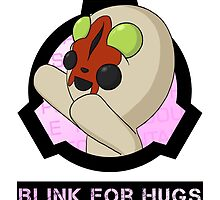 SCP-173 Blink For Hugs by LawlessSquirrel