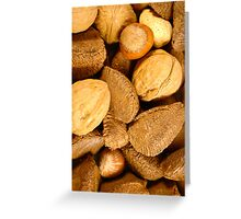 Mixed Nuts - Vertical Greeting Card