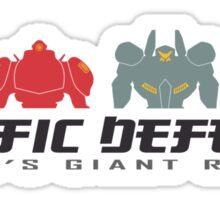 Pacific Defense Sticker