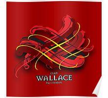 Wallace Tartan Twist Poster