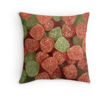 Spice Drops Throw Pillow